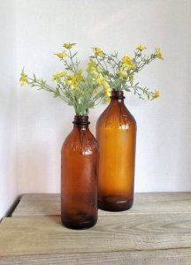 amber bottles