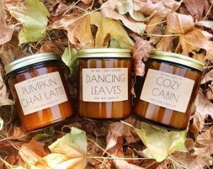 fall scent candles
