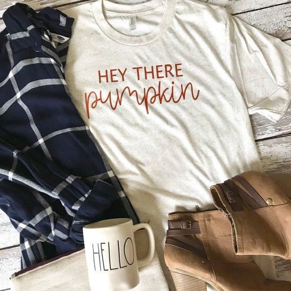 hey there pumpkin shirt
