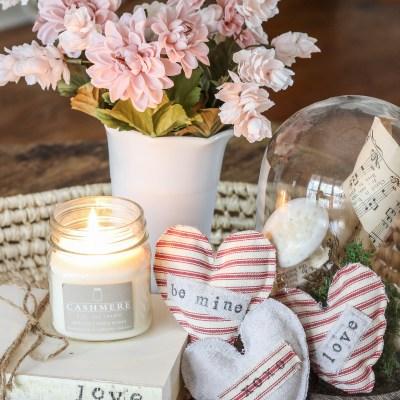Valentine DIY Lavender Sachets