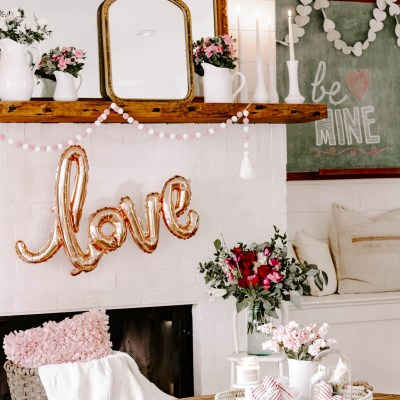 Vintage Valentine Decor