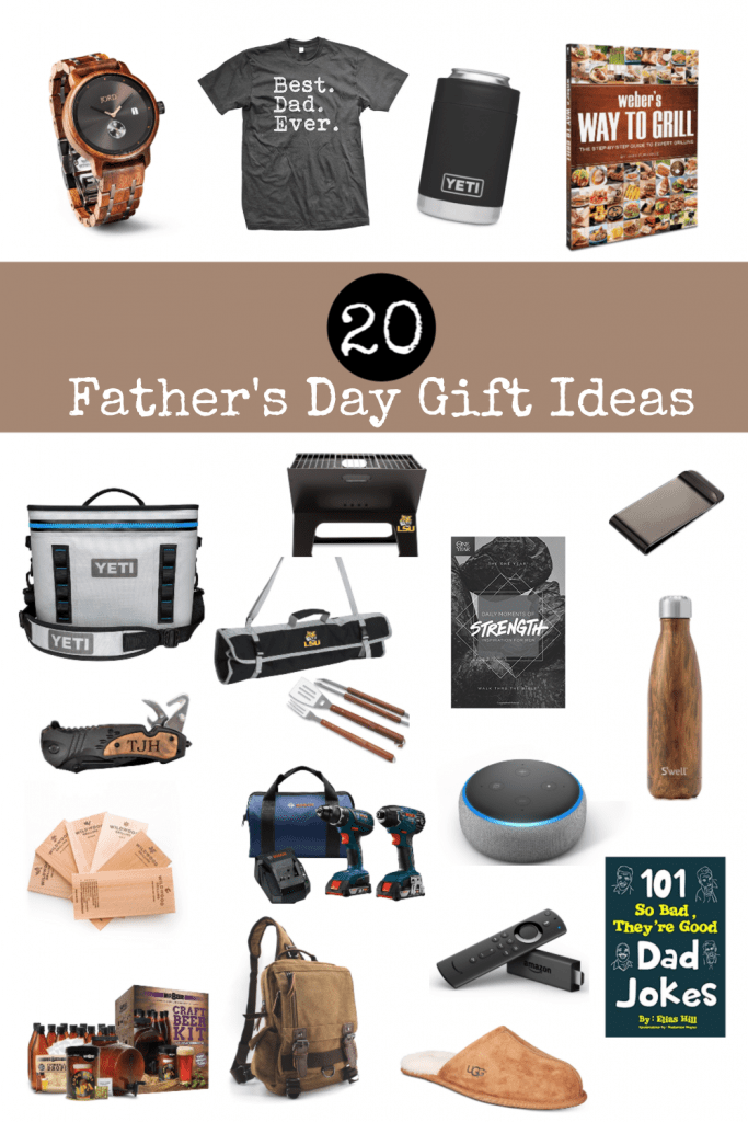 Sharing 20 of the best Father's Day gift ideas for your husband, father, or significant other to make your shopping easy this year.