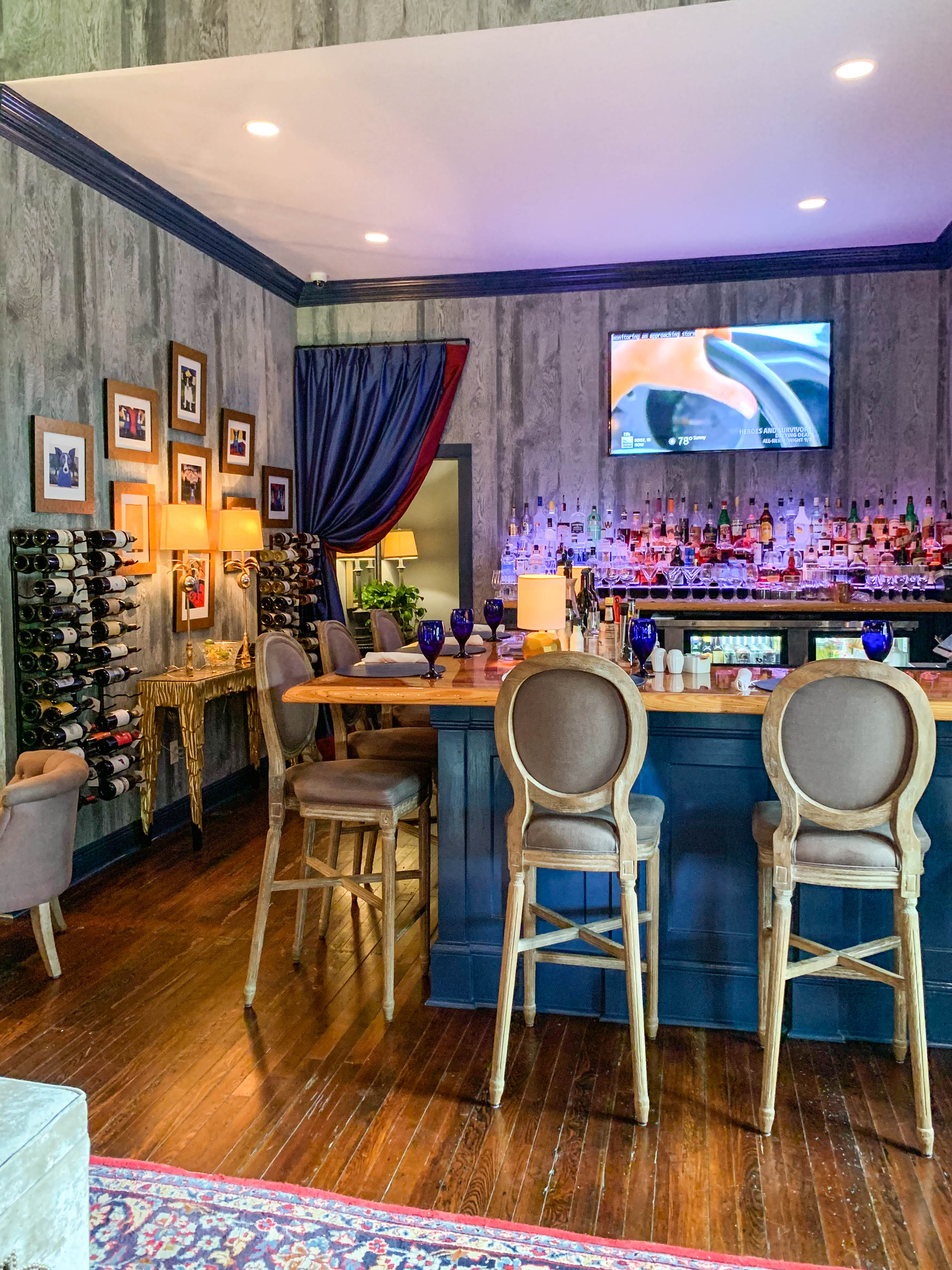 The Saint Bar at St. Francisville Inn