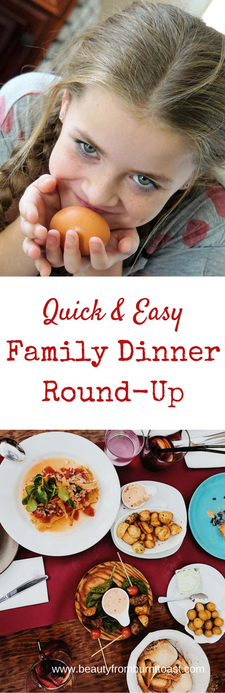 Weeknight dinners are hard. What could be better than a tried and true arsenal of family favorites that are easy and quick and also family approved? Here's a weeks worth of meals that won't take precious time away from what's really important, your family.