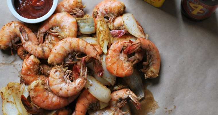 Maryland Style Steamed Shrimp