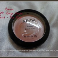 REVIEW,SWATCHES: NYX Rouge Cream Blush – Tea Rose.