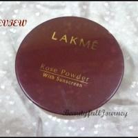 REVIEW: Lakme Rose Powder – Soft Pink.
