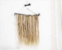 DIY: Hair Extensions Holder
