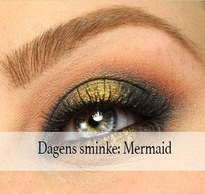 Dagens sminke: Mermaid