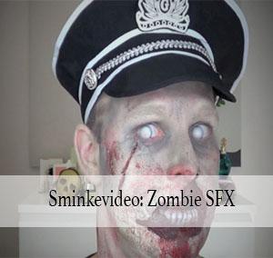 Halloween sminkevideo: Zombie