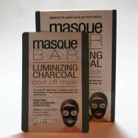 Masque Bar Luminizing Charcoal Peel Off Mask