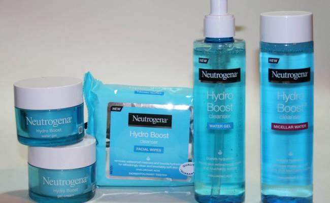 Neutrogena Hydra Boost Range Skincare Review