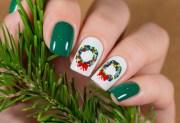 cute holiday nail art ideas - dailybeautyhack
