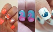 ideas animal nail art