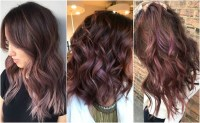 Chocolate Mauve In Daylight Chocolate Mauve Hair Color ...