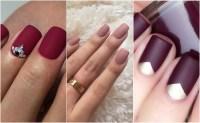 10 ways to wear matte nails