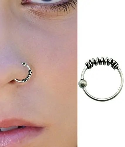 8 Famous Types Of Nose Piercing With Beautiful Rings Healing Time