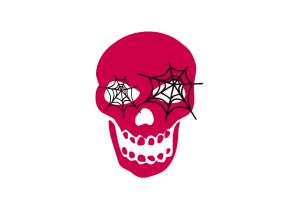 pink halloween horror makeup