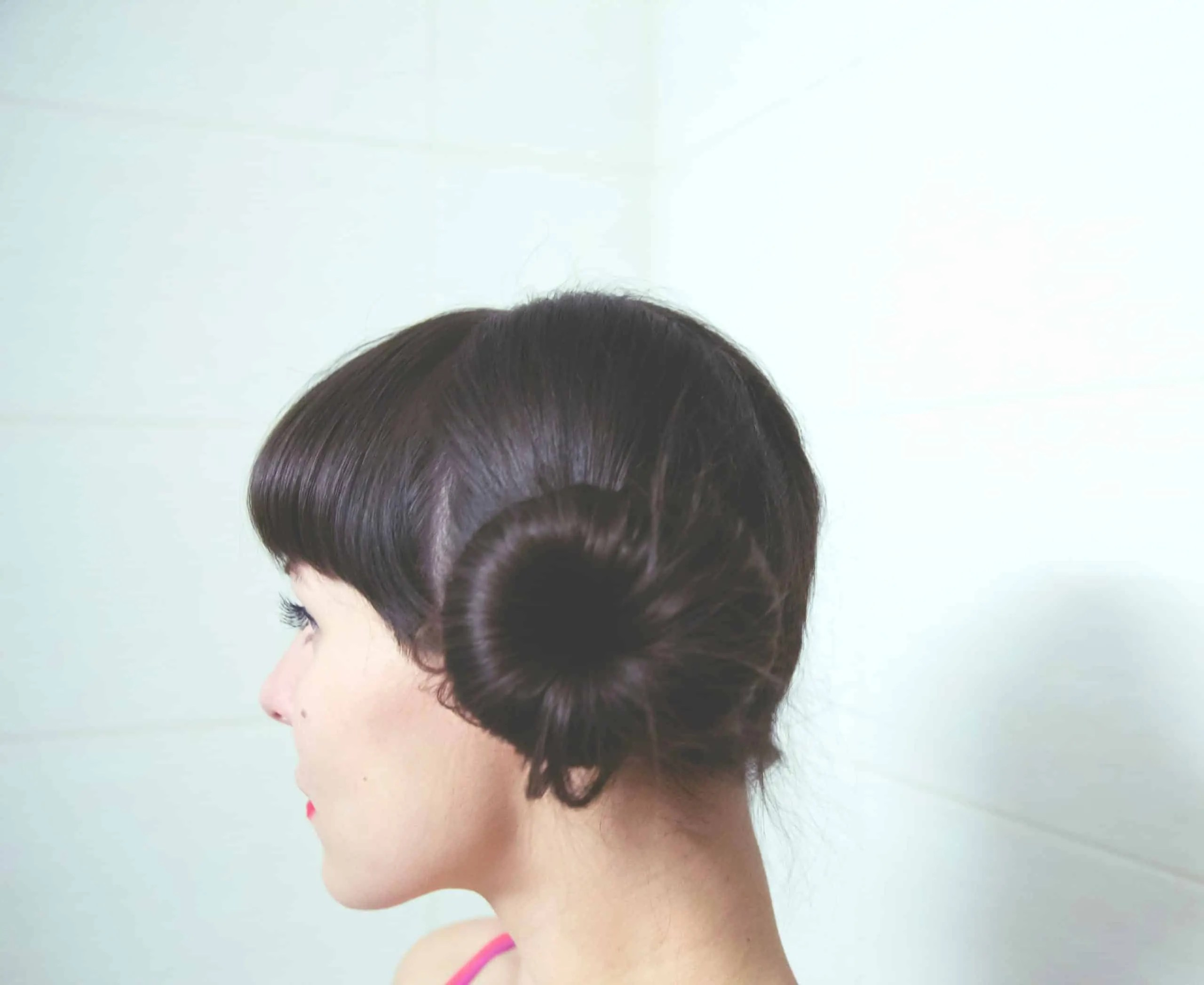 Bun Hairstyle For Saree