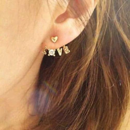 cute earlobe piercing jewelry