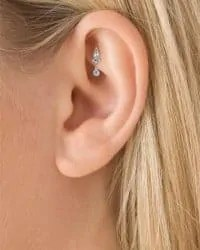 painful rook ear piercing