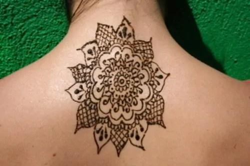 Mehndi Tattoo