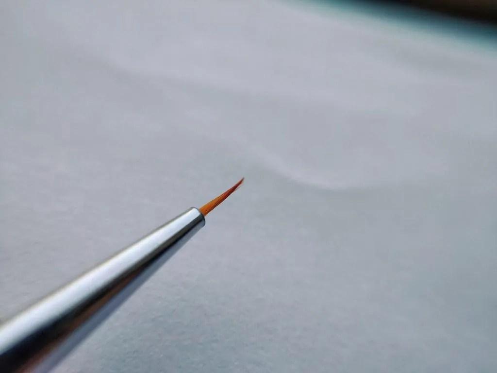 clean_nail art brush