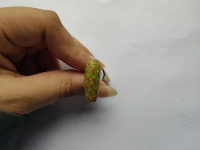 cute Carrot Nail Designs