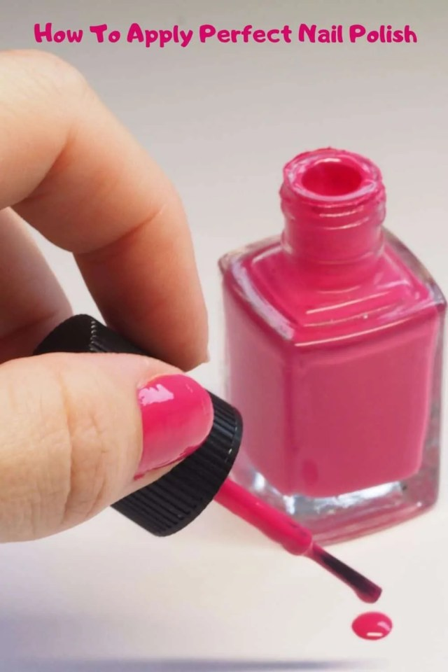 Nail polish techniques