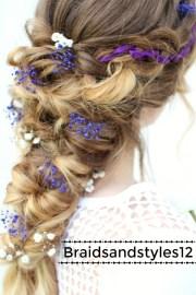 wedding hairstyle pretty fairy