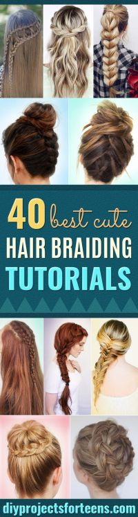 Easy Step by Step Hairstyles For School : Best Hair ...