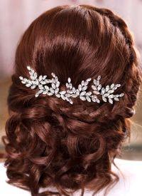 Wedding Hairstyles : Bridal hair pins Crystal hair pins ...