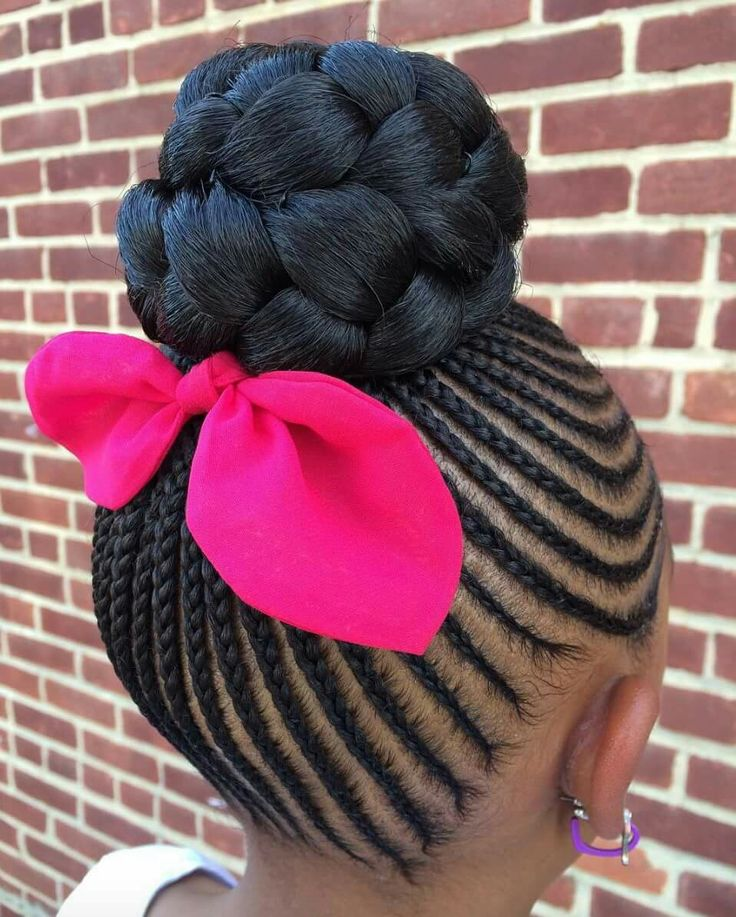 American And African Hair Braiding Little Girls Natural Hair