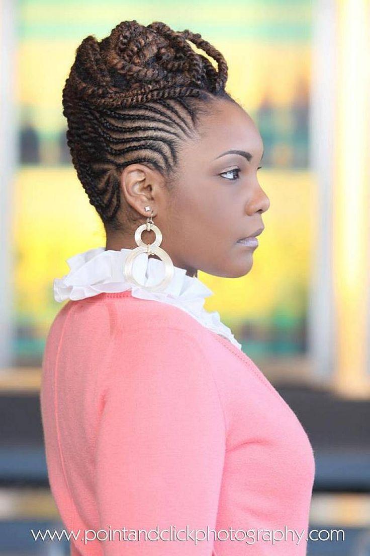 American And African Hair Braiding 5 Creative Natural Braided