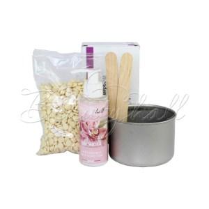 Beautyhall набор для депиляции горячим воском 200 гр + молочко