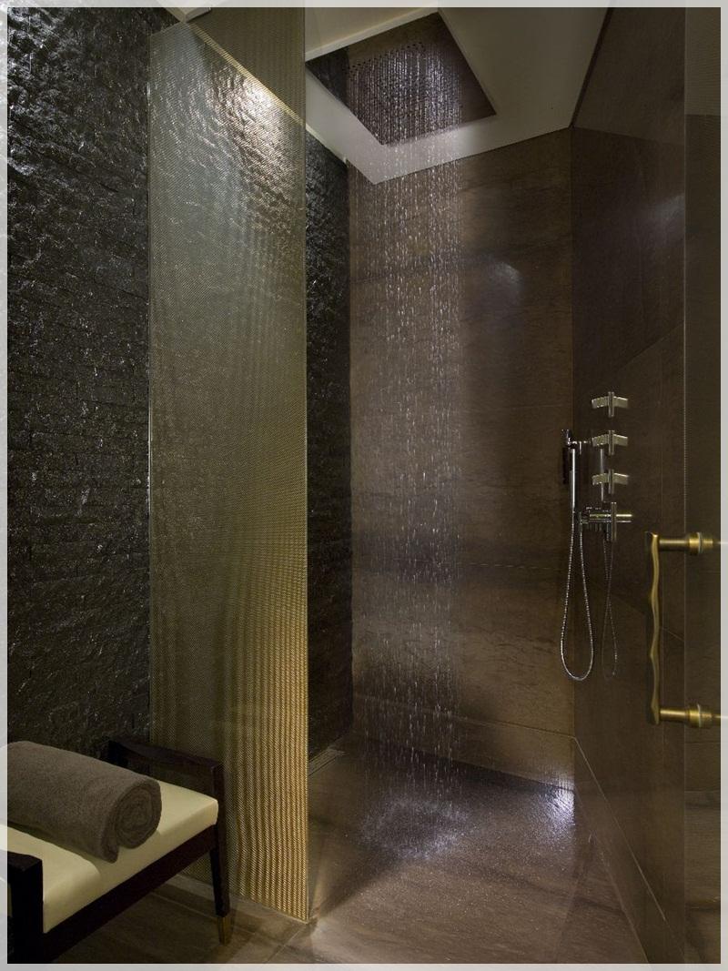 16 Photos Of The Creative Design Ideas For Rain Showers