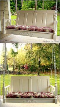 25 DIY Wonderful Ideas for Reusing Old Doors ...