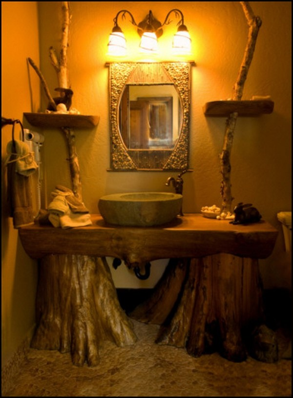 Specific Rustic Bathroom Design Ideas Enjoy Winter - Beautyharmonylife