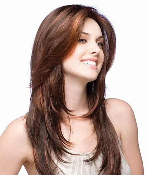 Layered Hairstyles For Long Hair Round Face