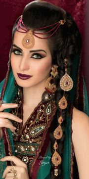 indian bridal hairstyle - latest