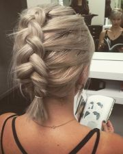 easy hair style ideas high