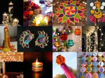 Diwali decoration ideas with diyas, rangoli, candles and ...