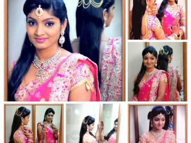 latest bridal hairstyles for wedding sarees - indian hairstyles