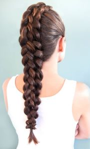 plaited hairstyles long