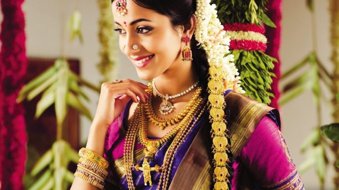 indian bridal hairstyle - latest dulhan hairstyles for wedding