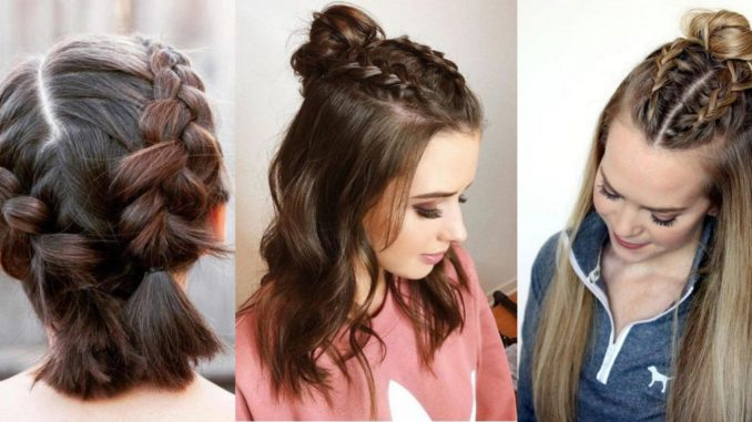 easy & simple hairstyles & haircuts for school girls 2019