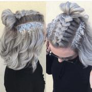 glitter hair trend beautyholics101