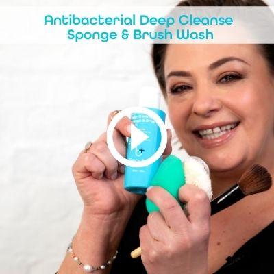 Lisa Armstrong Beauty Hygiene Plus video Deep Cleanse Makeup Sponge & Brush Wash