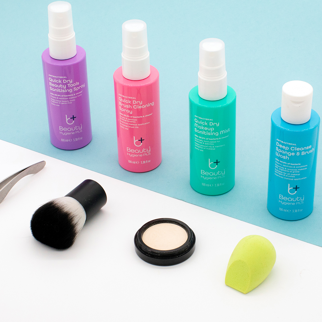 Beauty Hygiene Plus brush and sponge cleaning duo