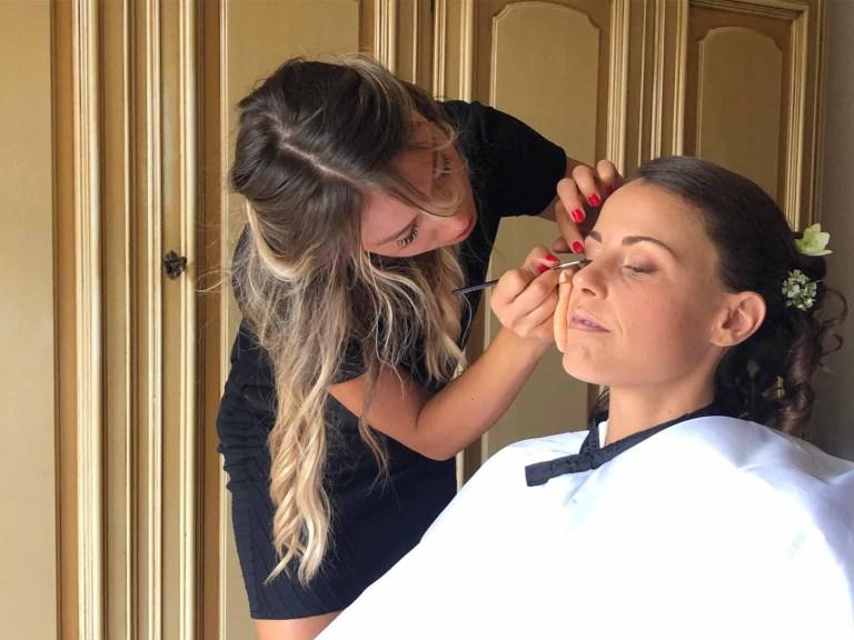 TRUCCO SPOSA - Bridal Mke Up la cura della pelle Martina Lizzani Beauty Image Lab MakeUp Artist Roma Portfolio - 06